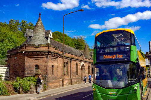 Stadtrundfahrt, City Sightseeing, Bustour, Sightseeing, Edinburgh, Schottland, Die Traumreiser