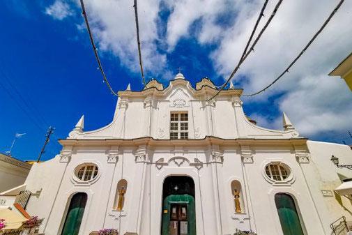 Neapel, Capri, Insel, Die Traumreiser, Anacapri, Kirche, Kathedrale