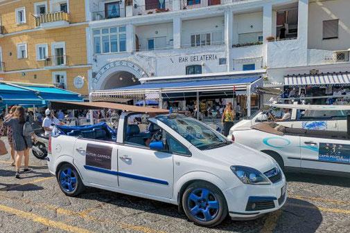 Neapel, Capri, Insel, Die Traumreiser, Capri Taxi