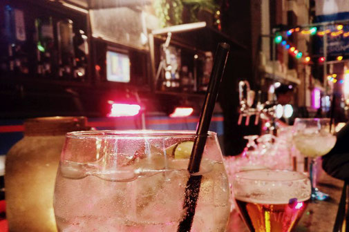 Drinks, Gin and Tonic, Rotterdam, Niederlande, Die Traumreiser