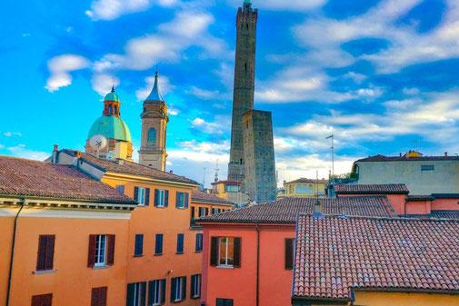 Bologna, Türme, Innenstadt, Altstadt, Italien, Die Traumreiser
