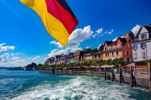 Bodensee Radweg, Radtour, Schweiz, Deutschland, Die Traumreiser, Fähre,