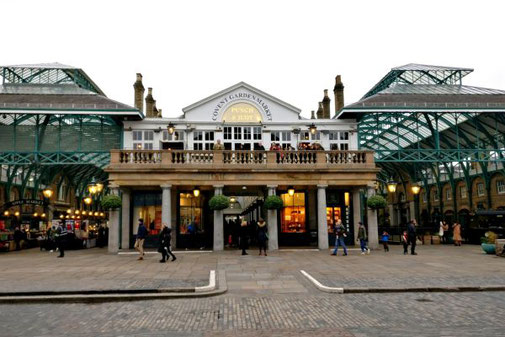 Covent Garden Market, London, Markthalle, Die Traumreiser