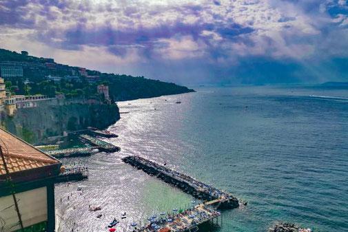 Sorrent, Neapel, Die Traumreiser, Küste