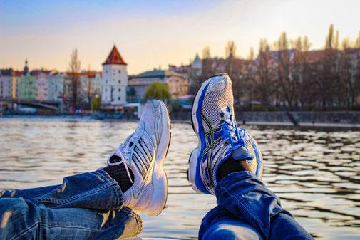 Prag, Boot, Tretboot, Moldau, Die Traumreiser