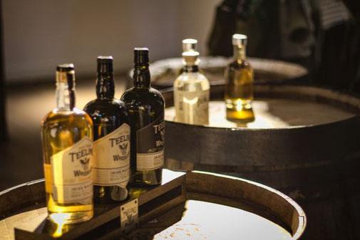 Dublin, Teeling Destillerie, Die Traumreiser