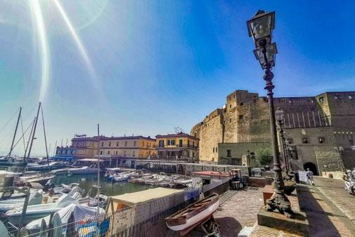 Neapel, Napoli, Italien, Die Traumreiser, Castel dell'Ovo