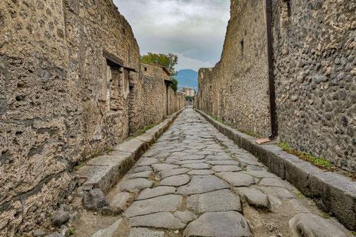 Pompeji, Neapel, Ausgrabungen, historisch,