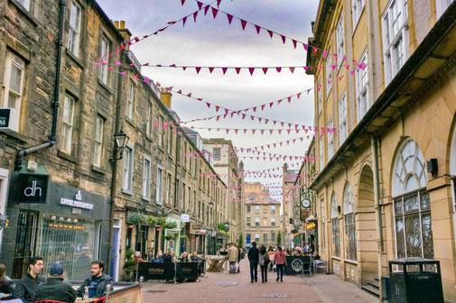 Rose Street Edinburgh, Restaurants, Pubs, Schottland, Die Traumreiser