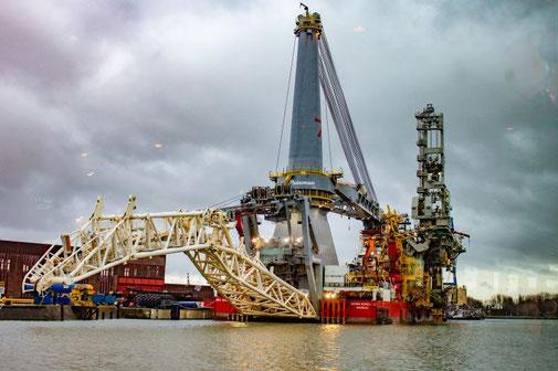 Rotterdam, Hafen, Schiff, Spezialschiff, Die Traumreiser