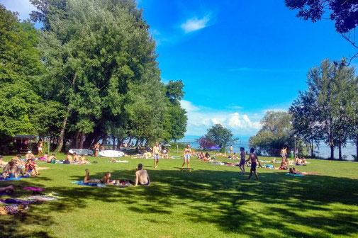Strandbad, Bad, Seebad, Bodensee, Konstanz, die Traumreiser