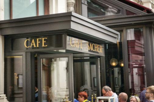 Wien, Vienna, Österreich, Die Traumreiser, Kaffeehaus, Wien, Café Sacher