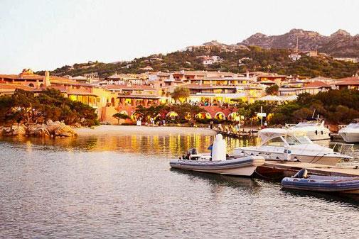 Italien, Sardinien, Die Traumreiser, Porto Cervo, Hafen
