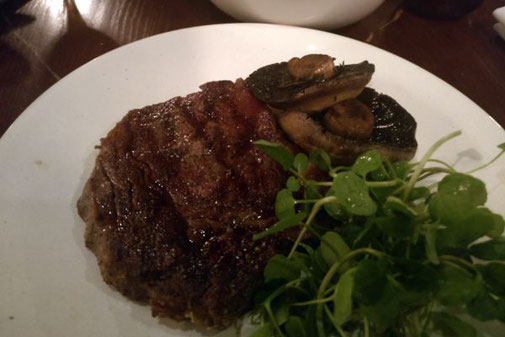 Heddon Street Kitchen, Rib-Eye Steak, London, Die Traumreiser