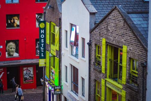 Dublin, Irland, Die Traumreiser, Unterkunft, Hostel, Hotel