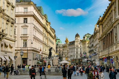 Wien, Vienna, Österreich, Die Traumreiser, Shopping, Einkaufsstraße