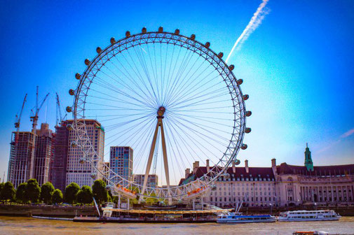 London Eye, Riesenrad, London, Themse, Die Traumreiser
