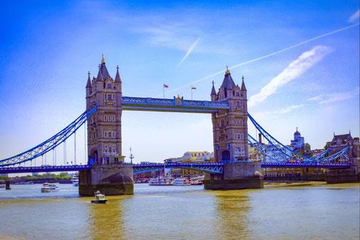 Tower Bridge, London, Themse, Wahrzeichen, Die Traumreiser