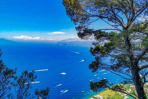 Neapel, Capri, Insel, Die Traumreiser, Golf von Neapel, Aussicht, Ausblick