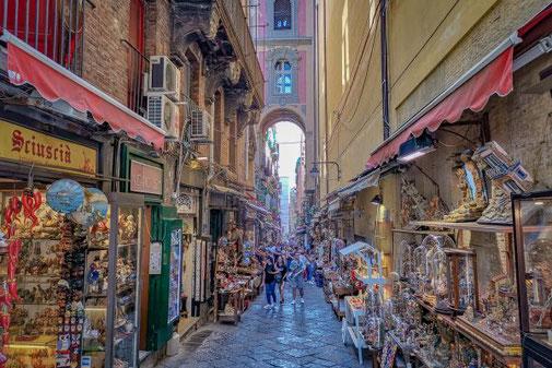 Neapel, Napoli, Italien, Die Traumreiser, Krippen, Weihnachten,