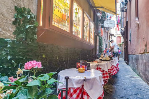 Sorrent, Neapel, Die Traumreiser, Restaurant, Essen