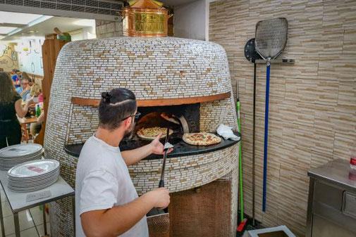 Neapel, Napoli, Italien, Die Traumreiser, Ofen, Pizza, Pizzaofen, Sorbillo