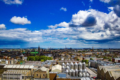 Dublin, Guinness Store House, Die Traumreiser, Gravity Bar