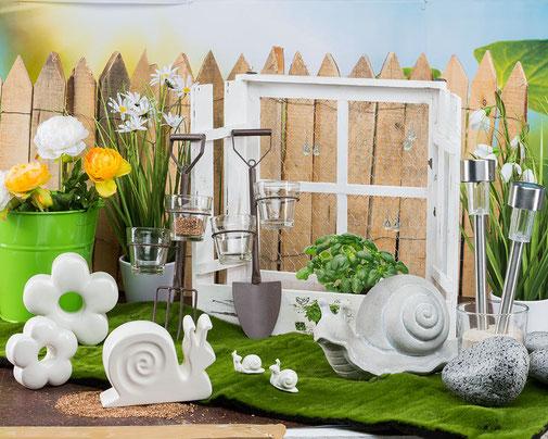 Dekorationsartikel f r innen und au en geschenkartikel for Gartentiere deko