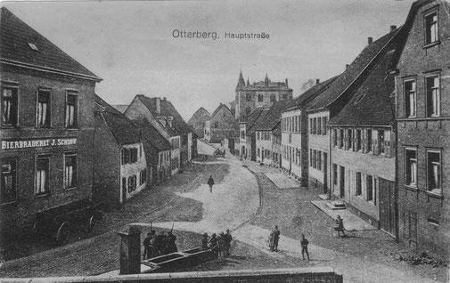 1900, Blickrichtung Süd, mit ehemaligem Löwenbrunnen
