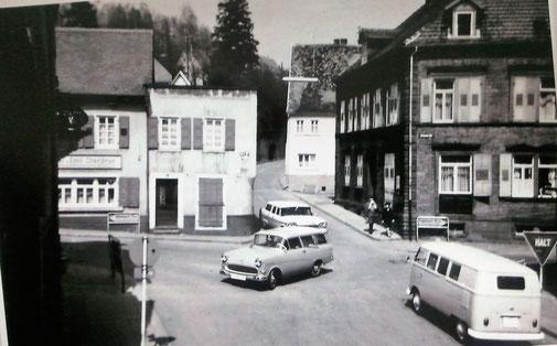 1960, Strassenkreuzung ohne Kreuz