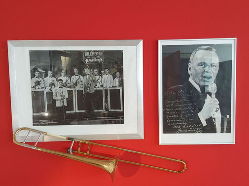 Frank Sinantra und Mackenbach