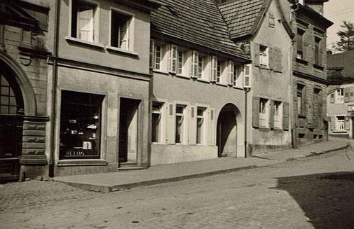 1960,  Cafe und Bäckerei Rettig, Bild: unbekannt