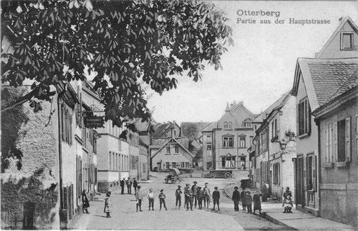 1912, Blickrichtung Nord