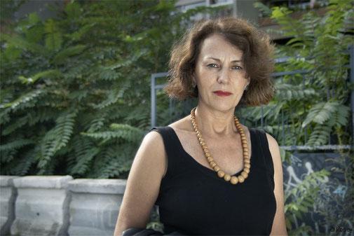 Portrait de Christina Mirjol, archives personnelles de l'auteure