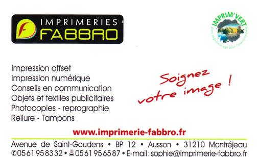 Imprimerie FABBRO - MONTREJEAU