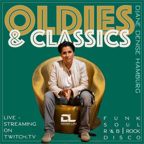 Oldies & Dance Classics -  spontan immer mal wieder auf Twitch.tv/djane_denise_hamburg