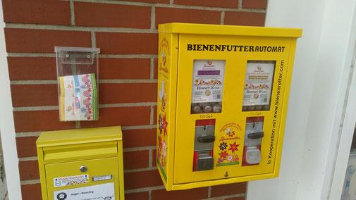 Bienenfutter Automat