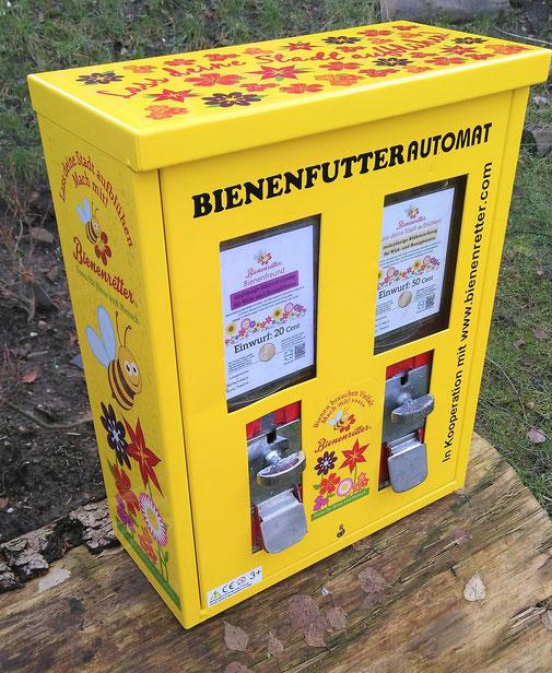 Bienenautomat im Bienenretter Desgin