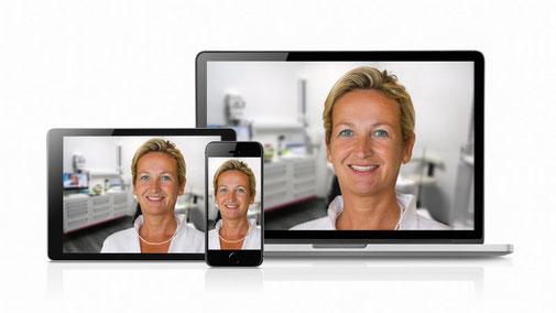 NEU - Video-Sprechstunde mit Frau Dr. Annette Bigalke