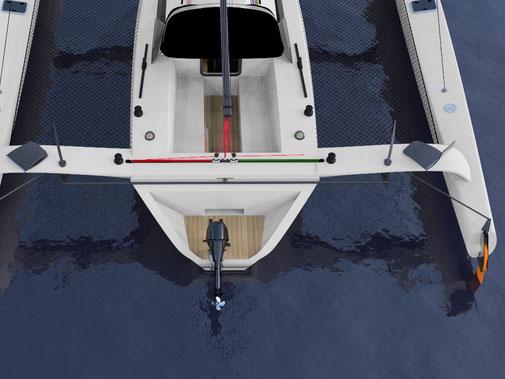 TR42 Performance Trimaran - Grainger Designs Catamarans and Trimarans