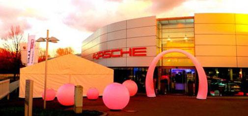 Firmenevent Porsche mit Pscheidl Veranstaltungsservice
