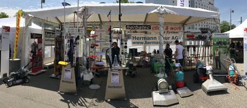 Stand Hermann Baur AG, Suisse Public
