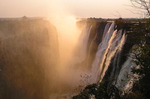 Viktoria Fälle Sambia