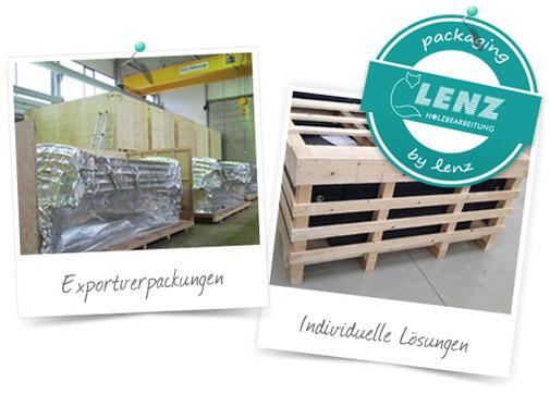 Lenz Exportverpackungen & individuelle Lösungen - packaging  by Lenz