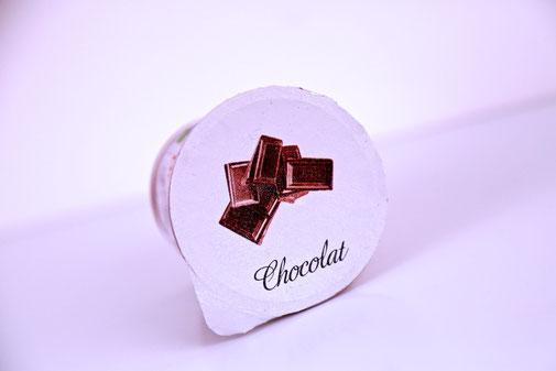 Crème au chocolat de la ferme des Alisiers