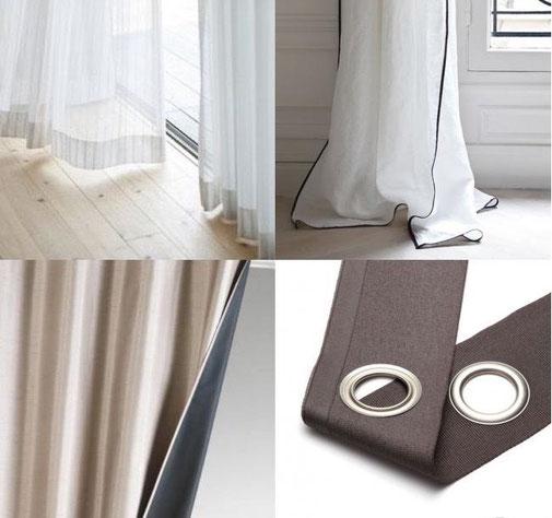 Fabrication rideaux sur mesure