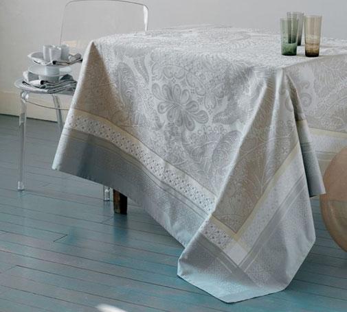 retouche sur linge de table nappe