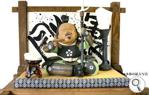 前田利家の陶人形