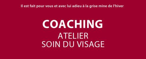 coaching atelier soin du visage, soin visage, anti-âge, démaquillage, gommage, masque, conseils, kiotis, coaching, beauté