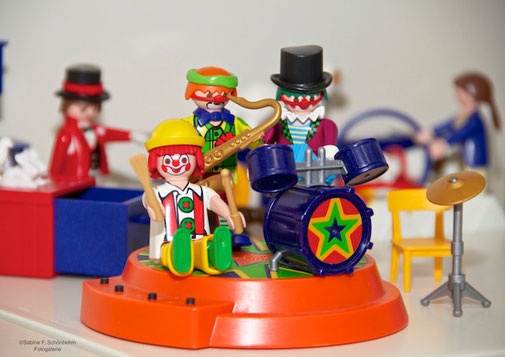 Playmobil® Clown Musikanten